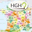 Carte HGH champ d'action
